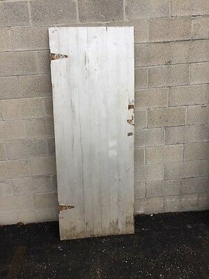 Cm 216 Antique Pine Crossbuck Door 30 X 78