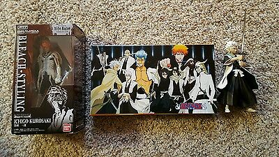 Lot of Bleach anime ×2 figures and a sword set