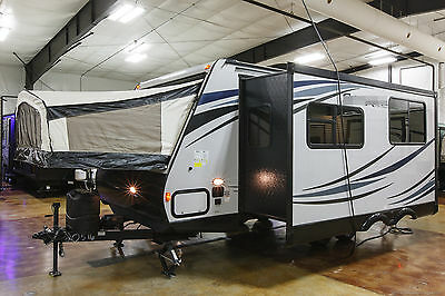 New 2016 190X Ultra Lite Hybrid Travel Trailer Slide Out 2 Beds Never Used