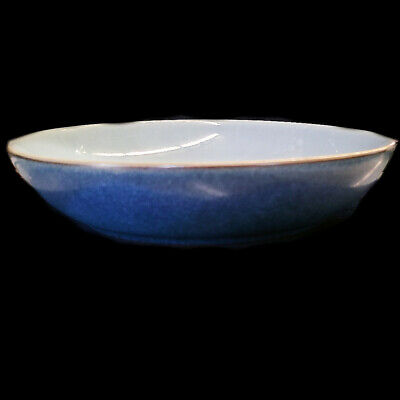 """BLUE JETTY Denby INDIVIDUAL PASTA BOWL 8.75"""" diameter NEW NEVER USED England"""