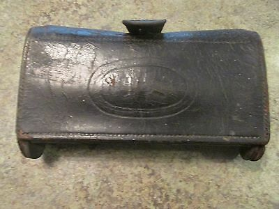 Antique US Military McKeever Watervliet? Cartridge Box Ammo Pouch Leather
