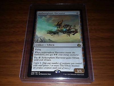1x Magic MTG Aethersphere Harvester Aether Revolt - Mint (Unplayed)