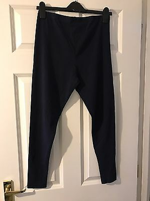 **MATERNITY CLOTHES** Navy Leggings, Size 10