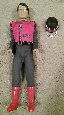 """Carlton Talking Captain Scarlet 12"""" Doll Action Figure With Lights"""