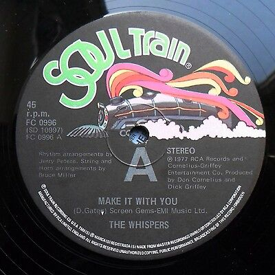 """Soul/Funk 12"""" WHISPERS - MAKE IT WITH YOU/YOU ARE NUMBER ONE - RECORDS - MP3"""