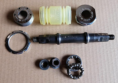 Vintage Sugino Bottom Bracket Made in Japan Tange French Threading