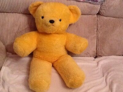 "vintage Teddy bear chad valley 28"" 1960s"