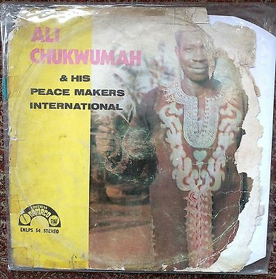 Ali Chukwumah And His Peace Makers - Nigeria Soukous Highlife 1978 LP *LISTEN*