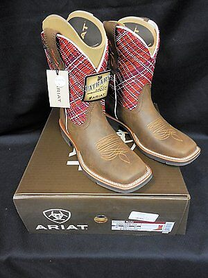 Ariat Rosie Women's Western Boot, Toasted Brown/ Sunset Wide Square Toe!  New!