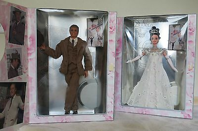 NEW! Set of TWO! My Fair Lady - Barbie and Ken as Eliza Doolittle Henry Higgins