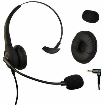 Headset Headphones With Volume + Mute Control For Cisco SPA Series Spa303 And