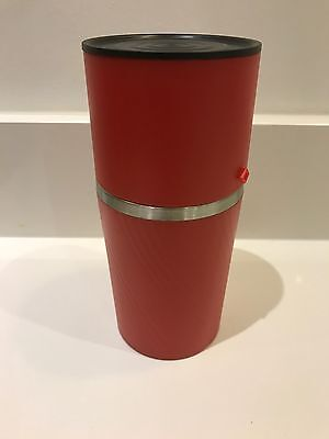 Cafflano Klassic, All-in-One Coffee Maker, Rare Red Colour