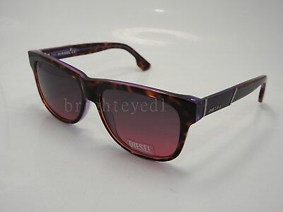 2e7b9263af AUTHENTIC DIESEL TORTOISE PURPLE Sunglasses DL 0085 - 55B  NEW ...