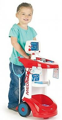 Smoby Medical Resue Roleplay Hospital Doctor's Trolley