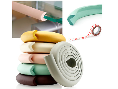 Baby Safety Table Desk Edge Cushion Protector Bumper Guard Corner Softener Strip
