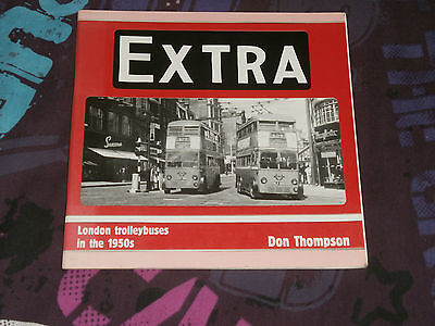 BOOK-EXTRA, LONDON TROLLEYBUSES IN THE 1950s