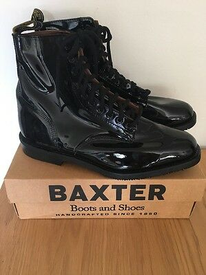 Black Men's Military Baxter Boots Never Been Worn Size 11