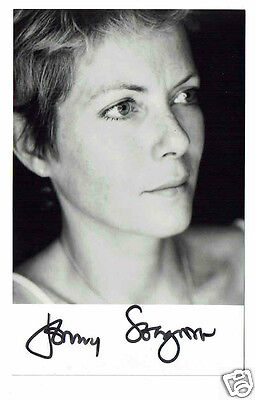 Jenny Seagrove Actress Hand Signed Photograph 5 x 3