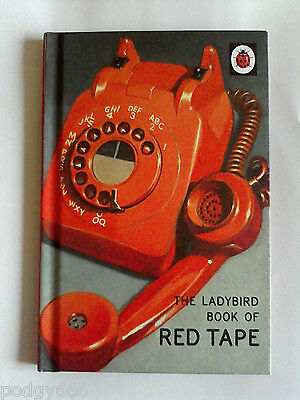 THE LADYBIRD BOOK OF RED TAPE For Adults Grown-Ups HARDBACK BOOK