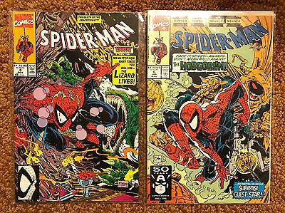 Spider-Man (1990) #4 and #6 Marvel Comics Todd McFarland