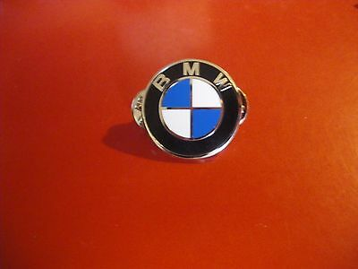 BMW Round Lapel Pin Badge Top Quality - biker men's shed sports