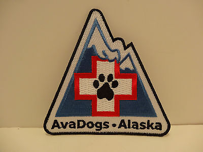 AvaDogs ALASKAN AVALANCHE RESCUE DOG PATCH-ONLY ONE ON EBAY - RARE FIND