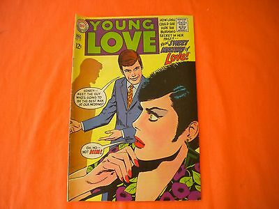 Vintage DC COMIC Book   YOUNG LOVE  #65