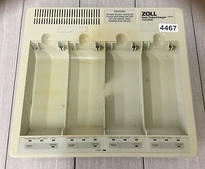 Zoll Base Power Charger Auto Test 4467