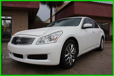 2009 Infiniti G37 3.7 V6 FULLY LOADED FLORIDA NO RESERVE!! 2009 INFINITI G37 3.7 V6 FULLY LOADED FLORIDA NO RESERVE