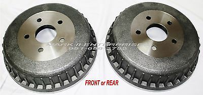 1961-1969 LINCOLN CONVERTIBLE -SEDAN BRAKE DRUM FRONT or REAR - NEW REPRO EACH