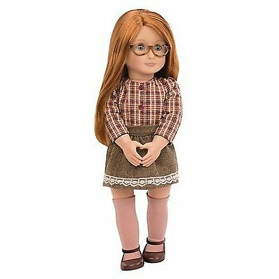 """Our Generation 18"""" April Doll Red Hair Blue Eyes Fits American Girl Ships fast!"""