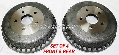 1961-1964 LINCOLN BRAKE DRUM FRONT & REAR - NEW REPRODUCTIONS (Set of 4)