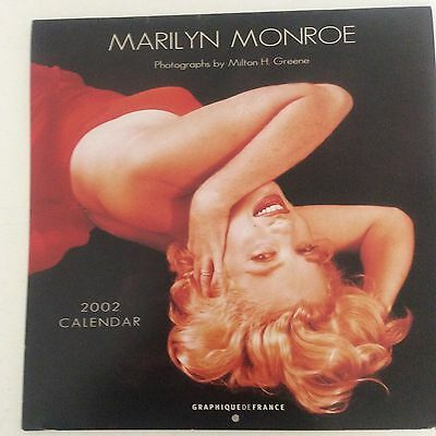 MARILYN MONROE 2002 CALENDAR by GRAPHIQUEDEFRANCE Photographer Milton H. Greene