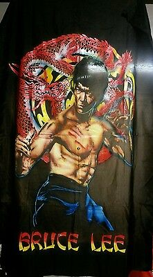 Bruce Lee Cotton Material heavily detailed Ultra-Rare Poster