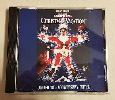 National Lampoon's Christmas Vacation Soundtrack CD Limited Edition
