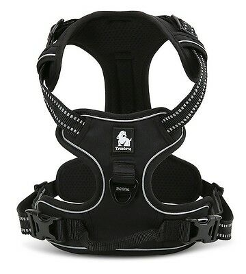 Truelove No-Pull Padded Dog Harness Reflective Pet Vest with Handle XL