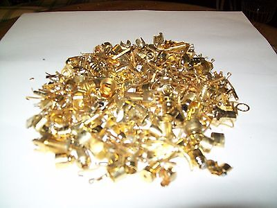 250+ Grams Of Mixed Gold Plated Connectors And Pins For Gold Recovery Only