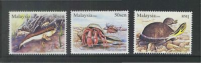 MALAYSIA 2006 Semi Aquatic Animal Mudskipper Hermit Crab Asian Box Turtle MNH