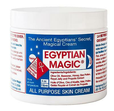 Egyptian All Purpose Anti-Wrinkle Anti-Aging Magic Cream Whitening Skin 118ML UK