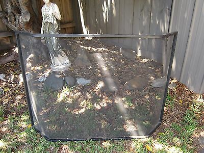 Very Solid One Piece Metal Fire Spark Screen