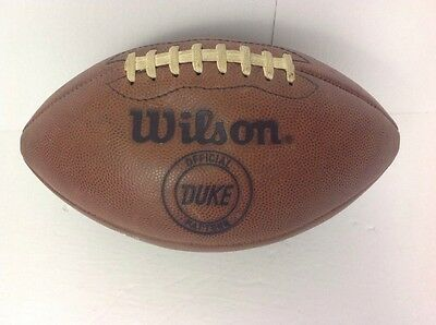 Old Vintage Early 1970's Wilson THE DUKE Leather Football Antique LQQK