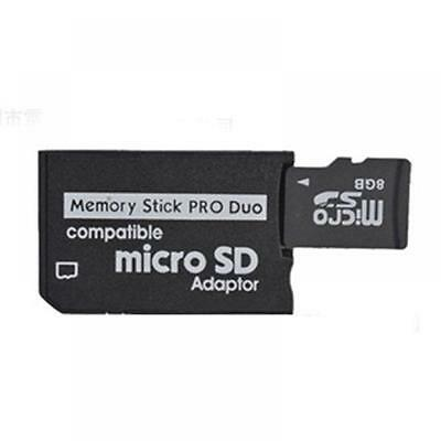 Reader PSP Adapter TF To MS MS Pro Duo Converter Memory Stick Micro SD Adaptor