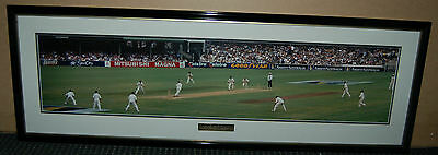 """waugh Path - Mk 11"" Australia V South Africa 1997-98 Test Match Panoramic Print"