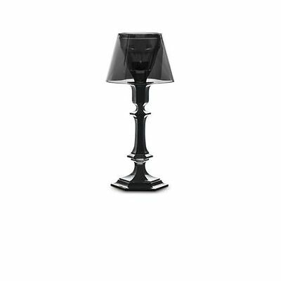 Baccarat Harcourt our Fire Candlestick Black