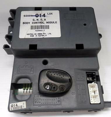 Vt Vx Commodore Bcm ( 015 Low ) With Key Head