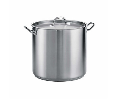Stock Pot 22.7 ltr - ProLine 18/8 stainless steel heavy-gauge commercial quality