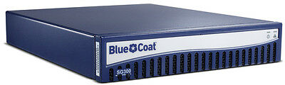 Bluecoat Sg300 Sg300-25-M5 Network Security Proxy Appliance Blue Coat