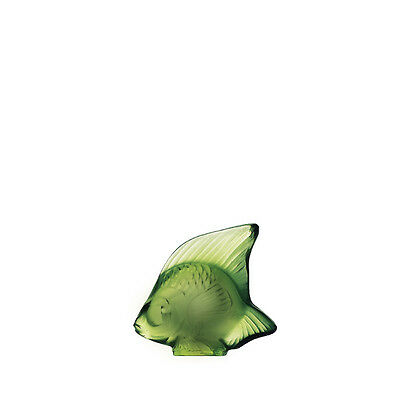 Lalique Antinea Green Fish