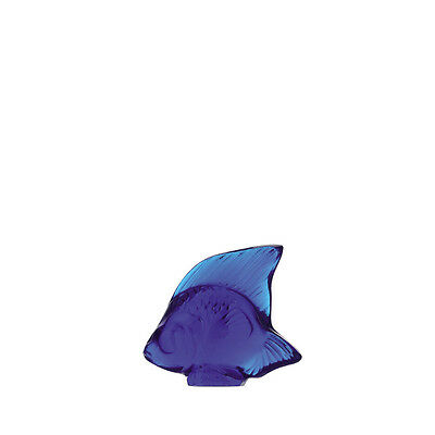 Lalique Cap Ferrat Blue Fish