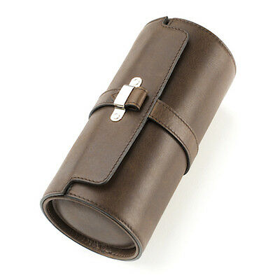 Royal Trunk and Co Brown Watch Roll